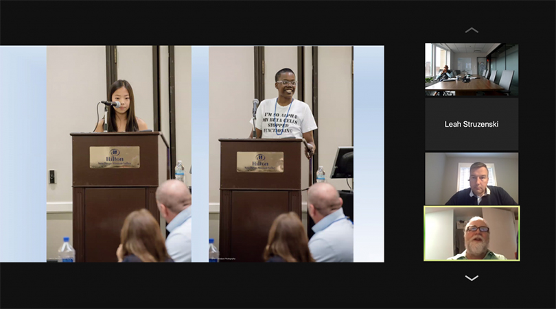 Cooley's Anemia Lunch & Learn Zoom Shot